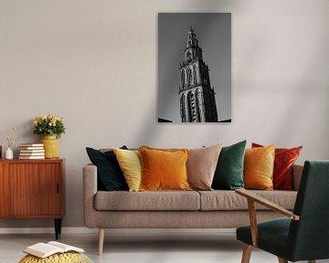 Olle Grieze (zwart-wit) 2 von Iconisch Groningen