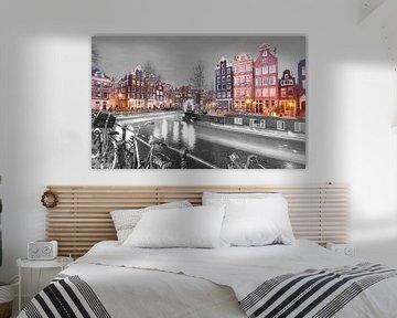 Amsterdam by Night van Dalex Photography