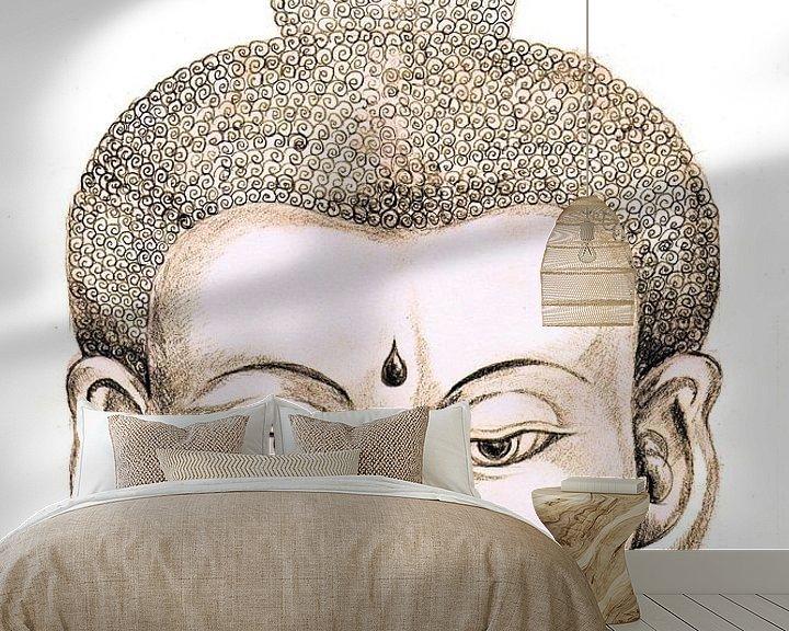 Beispiel fototapete: Boeddha von Sasha Butter-van Grootveld
