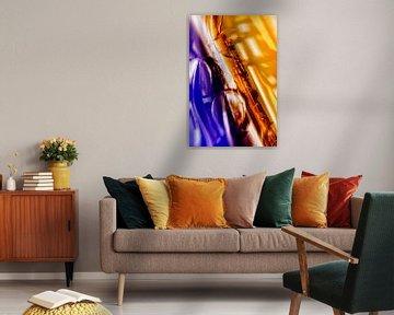 Kleurrijke saxophone in detail 1 van 2BHAPPY4EVER.com photography & digital art
