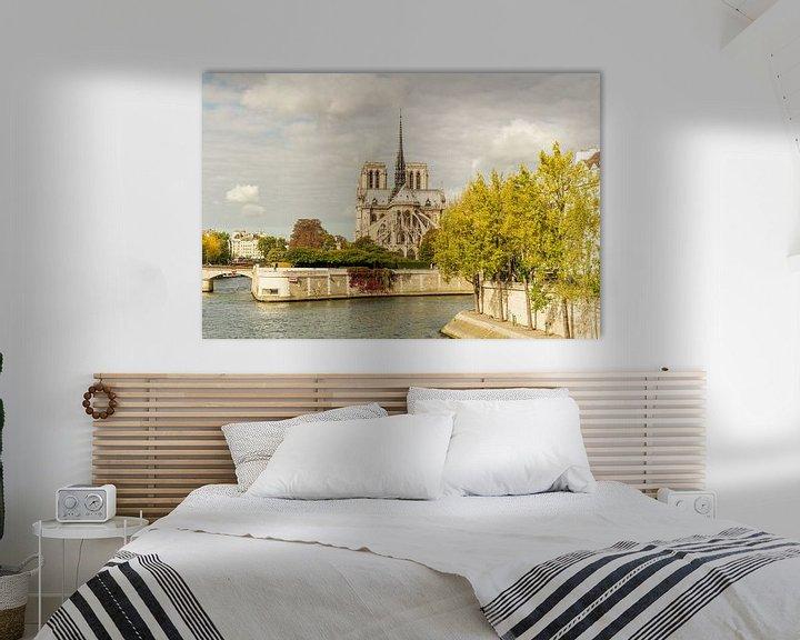 Sfeerimpressie: Paris Notre Dame van davis davis