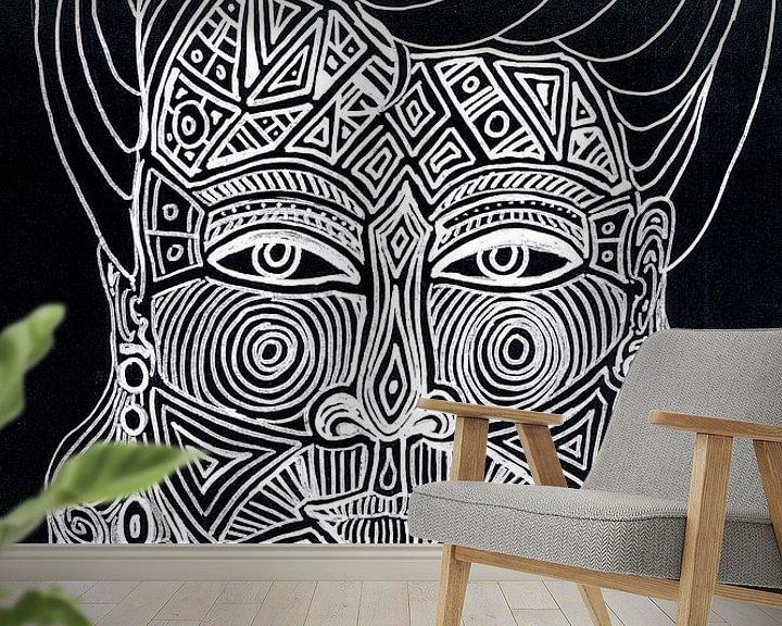 Beispiel fototapete: Maori  von Sasha Butter-van Grootveld