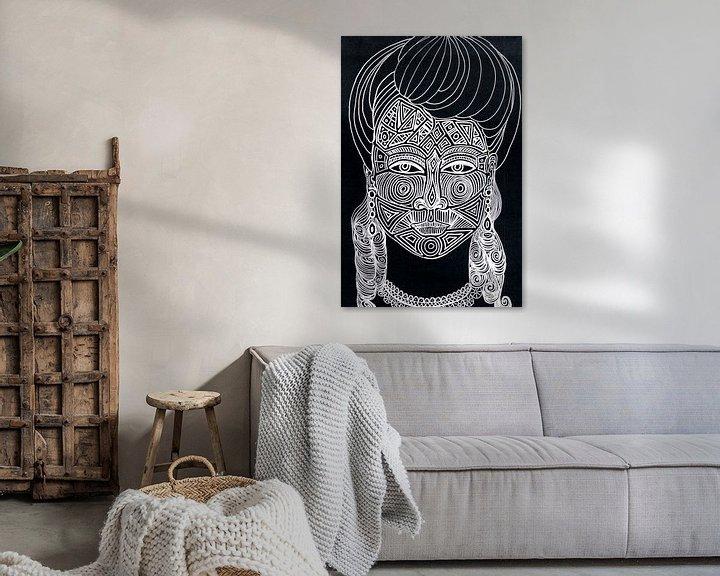 Beispiel: Maori  von Sasha Butter-van Grootveld