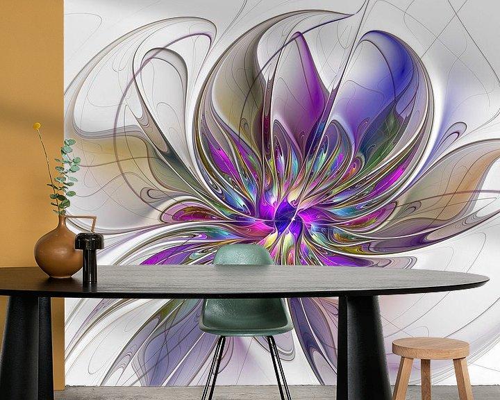 Sfeerimpressie behang: Energetic van gabiw Art