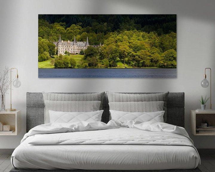 Sfeerimpressie: Tigh Mor Landhuis aan de oever van Loch Achray, Schotland van Johan Zwarthoed