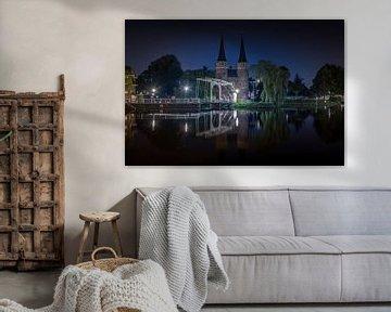 Delft Oostpoort van Jolanda Wisselo
