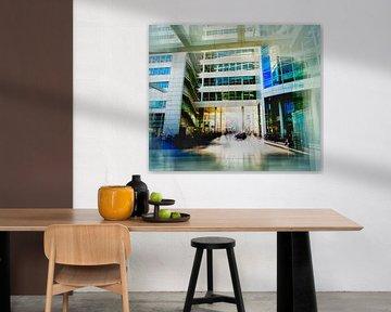 Stad Huis  in Den Haag  van Ariadna de Raadt-Goldberg