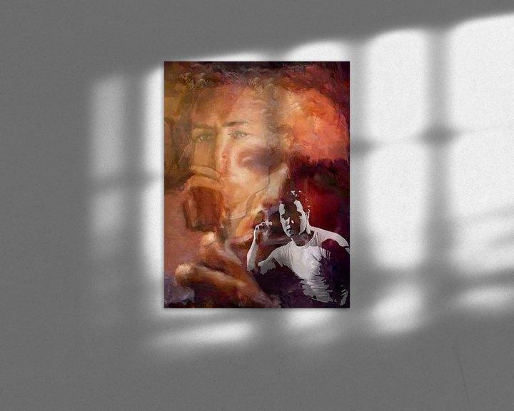Beispiel: Brando Marlon Brando Pop Art von Leah Devora