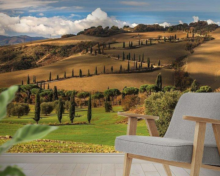 Beispiel fototapete:  Die Toskanische Träume von Marc Smits
