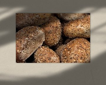 Haben Sie den ganzen Duft von gebackenem Brot riechen? von Henny Brouwers