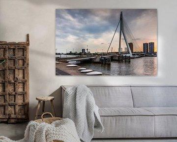 Erasmusbrug, Rotterdam van Lorena Cirstea