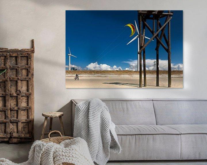 Sfeerimpressie: Kite surfer van Sonja Pixels