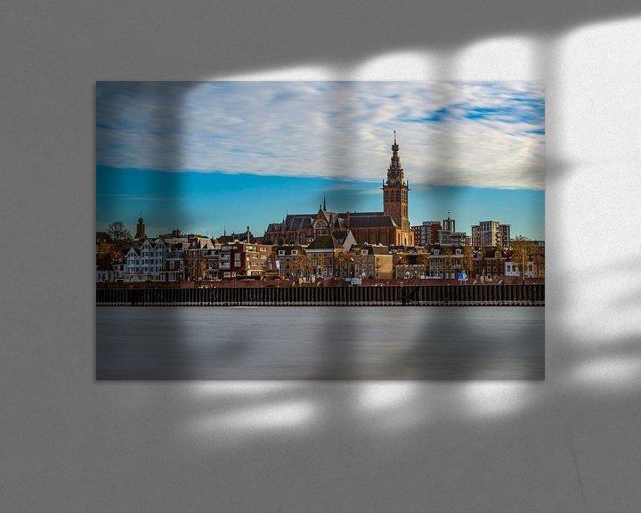 Sfeerimpressie: De Stevenskerk in Nijmegen. van Maerten Prins