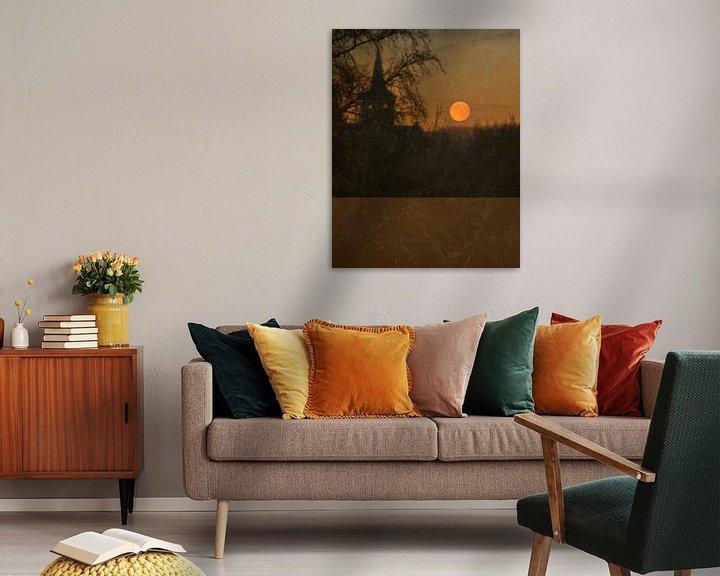 Sfeerimpressie: Rode maan van Anouschka Hendriks