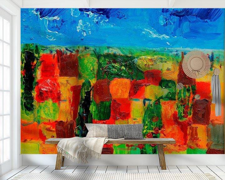 Sfeerimpressie behang: BELLA TOSCANA van Emmy Verschoor