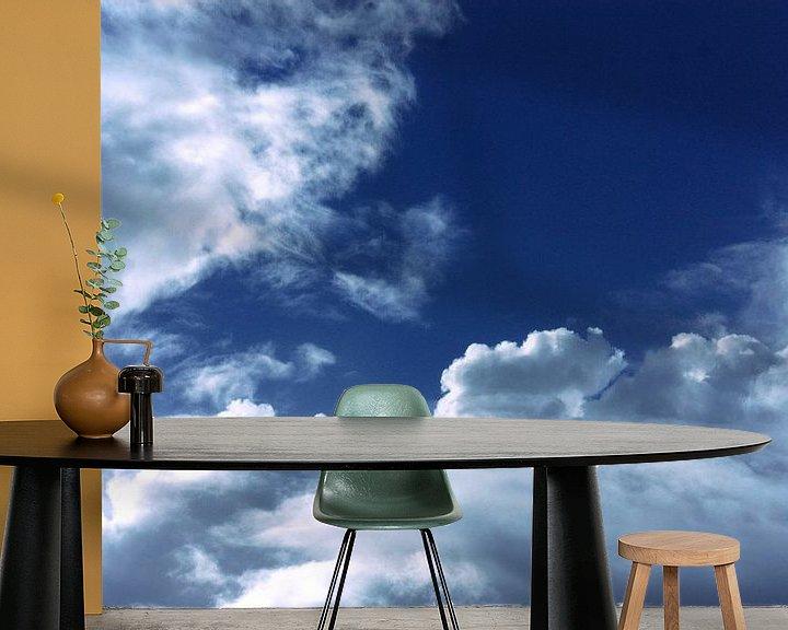 Beispiel fototapete: Wolken en een blauwe hemel von Linda van Miltenburg