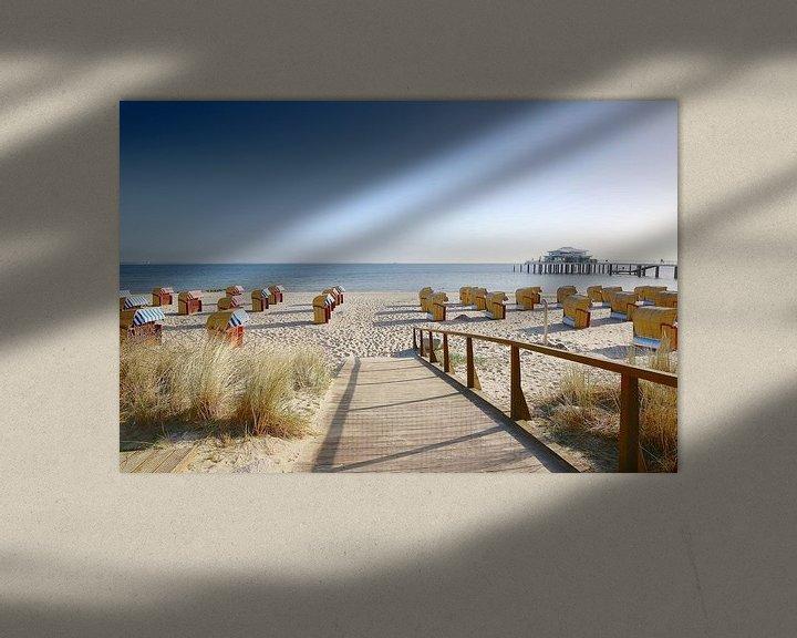 Sfeerimpressie: Oostzee vakantie op Timmendorfer Strand van Ursula Reins