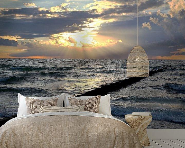 Beispiel fototapete: Ostsee  im  Abendlicht von Ursula Reins
