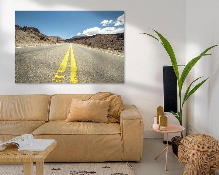 Sfeerimpressie: De gele lijn van Chantal Nederstigt