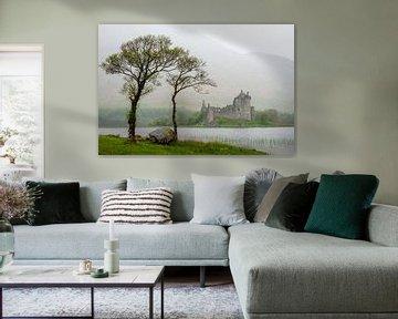 Kilchurn Castle van Dick Frieling