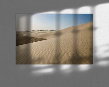 Zandduinen in de woestijn van Qatar von Jack Koning