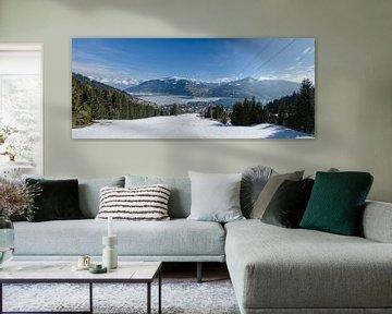 Panorama Zell am See - Oostenrijk sur Jack Koning