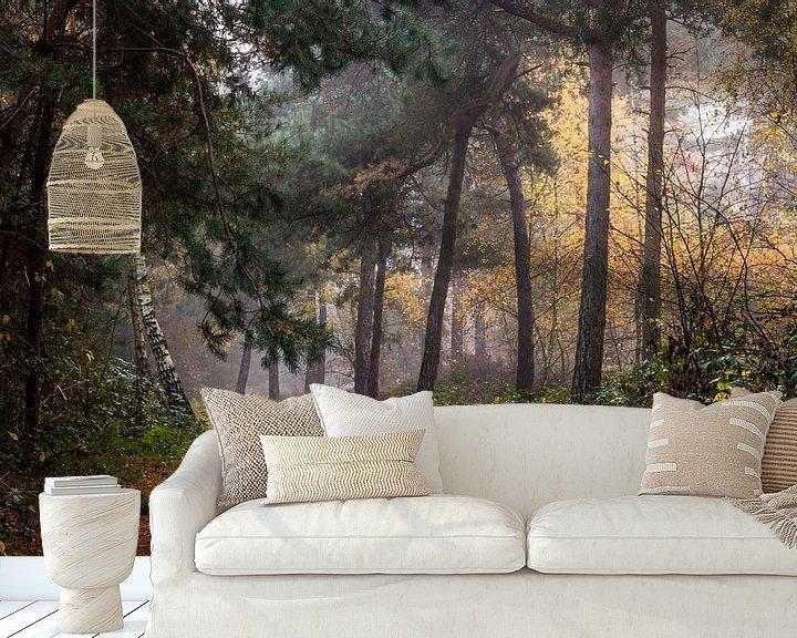 Sfeerimpressie behang: Path Of Trees van William Mevissen