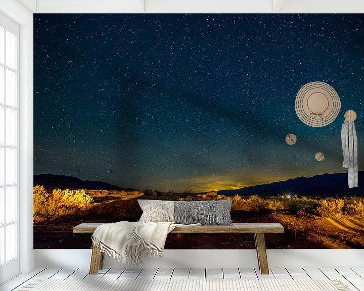 Beispiel fototapete: Star Valley von Ton Kool