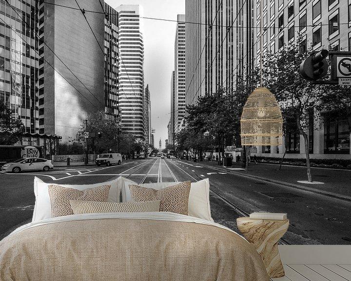Beispiel fototapete: Street life  von Ton Kool