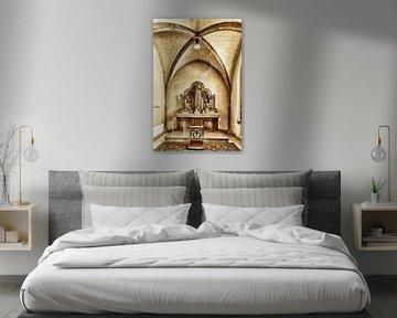 Altar in Abtei Mariënkroon von 2BHAPPY4EVER.com photography & digital art