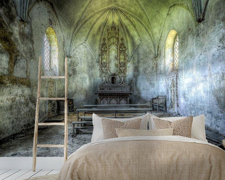 Beispiel fototapete: Chapelle De Meuse von Etienne Hessels