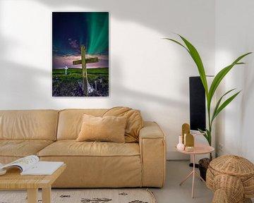 Aurora Borealis van Tom Opdebeeck