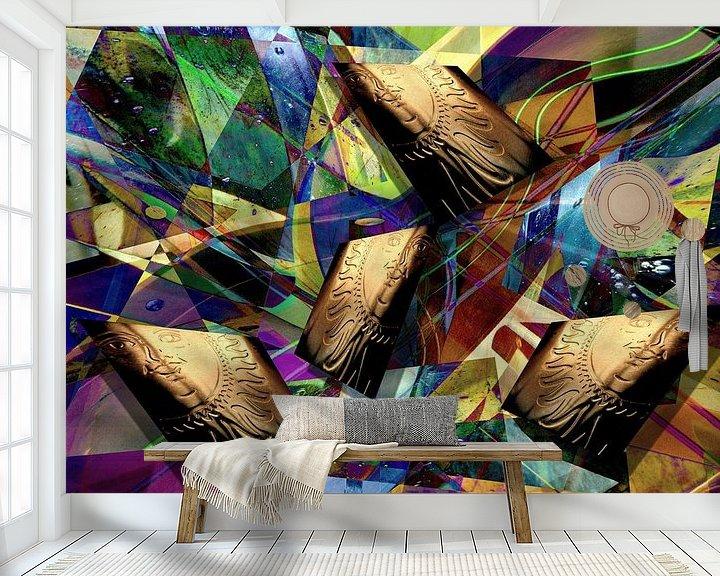Sfeerimpressie behang: Auf der Sonnenseite van Heidrun Carola Herrmann