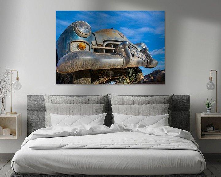 Sfeerimpressie: Gestrande oldtimer, Cadillac van Rietje Bulthuis