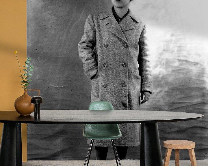 Sfeerimpressie behang: Portrait Italy 1 van Liesbeth Govers voor omdewest.com