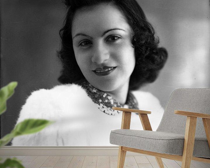 Sfeerimpressie behang: Portrait Italy 2 van Liesbeth Govers voor omdewest.com