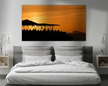 Sunset Ashram 3 van Deshamer