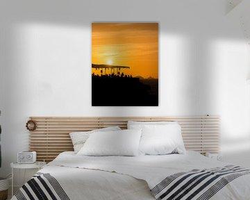 Sunset Ashram 2 van Deshamer