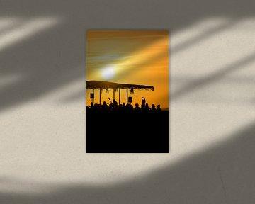 Sunset Ashram 1 van Deshamer
