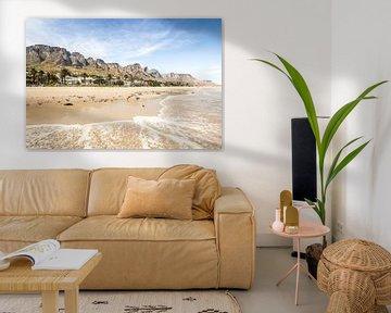 Camps Bay, Kaapstad, Zuid Afrika van Thea.Photo
