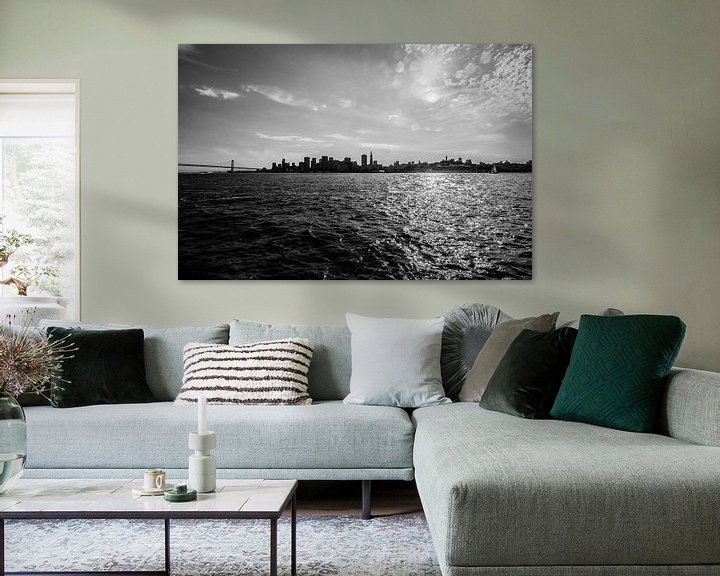 Beispiel: San Fransisco Bay  von Ton Kool