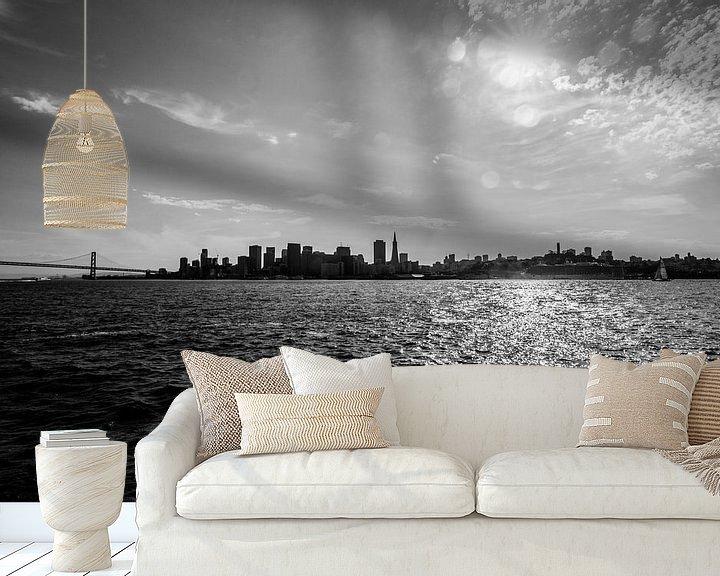 Beispiel fototapete: San Fransisco Bay  von Ton Kool