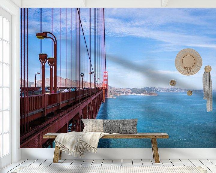 Beispiel fototapete: One bridge to far von Ton Kool