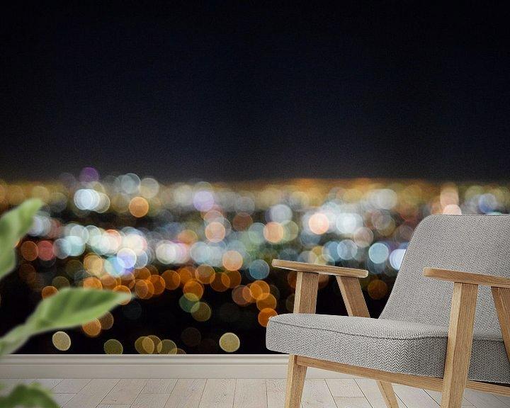 Beispiel fototapete: Los Angeles blur von Ton Kool