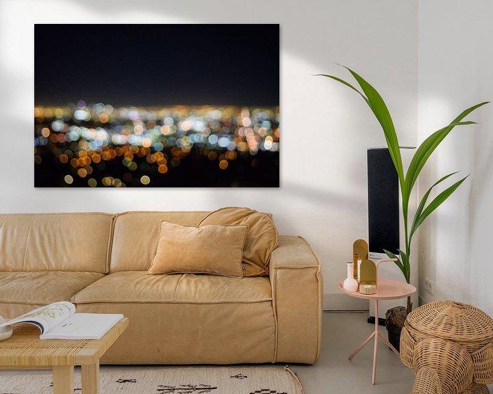 Beispiel: Los Angeles blur von Ton Kool