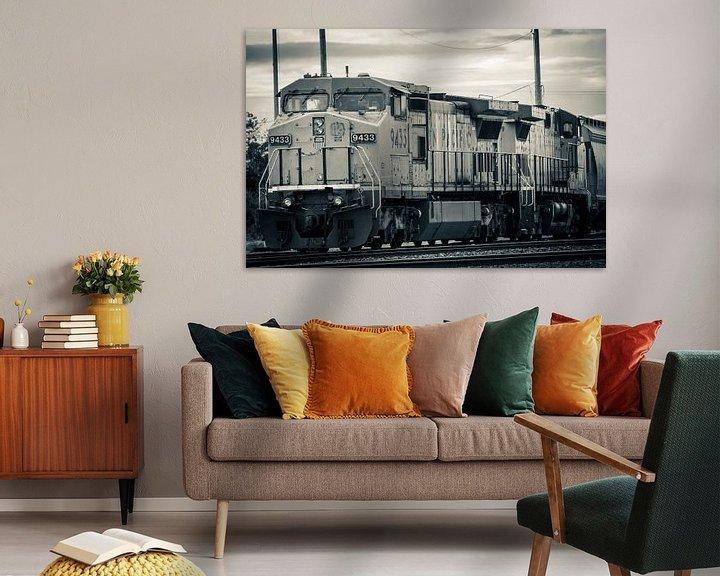 Sfeerimpressie: American train van Nannie van der Wal
