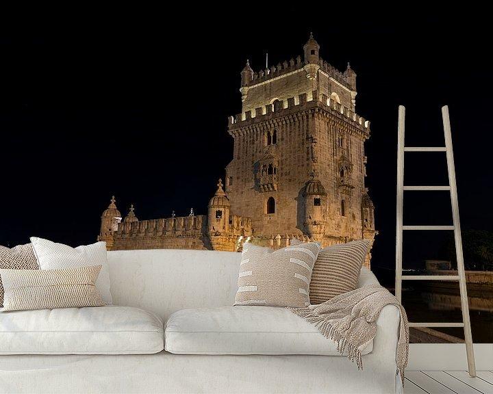 Sfeerimpressie behang: belem tower portugal van Compuinfoto .
