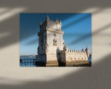 belem tower Lisbon van Compuinfoto .