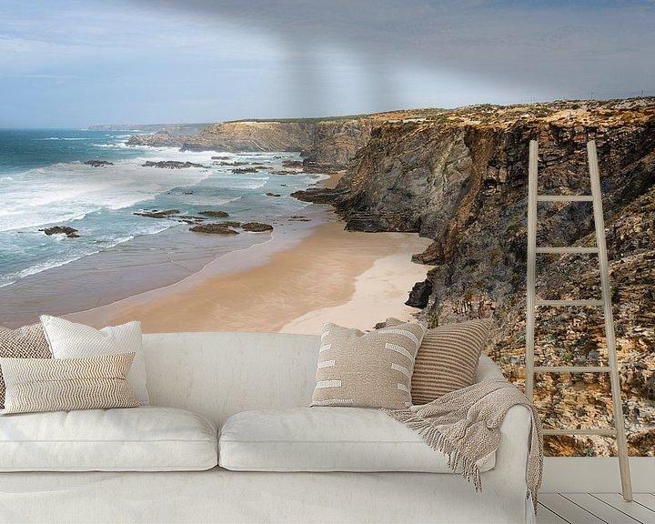 Sfeerimpressie behang: de westkust van portugal van Compuinfoto .