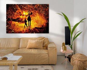 Fire Dance van Hans van der Pol